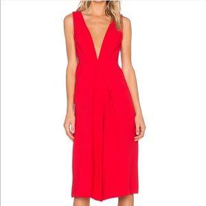 BGBGeneration V-Neck Culotte Jumpsuit Size 2